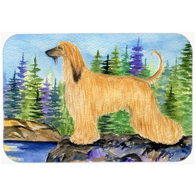 Afghan Hound Kitchen/Bath Mat Size: 20 H x 30 W x 0.25 D