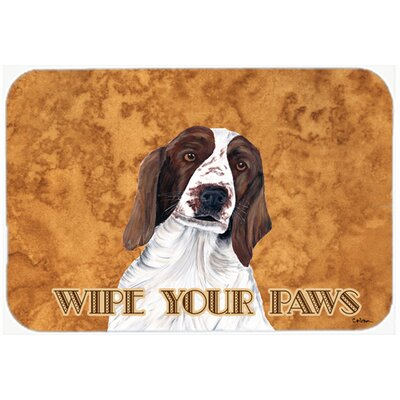 Springer Spaniel Kitchen/Bath Mat Size: 20 H x 30 W x 0.25 D