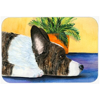 Corgi Kitchen/Bath Mat Size: 24 H x 36 W x 0.25 D