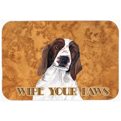 Springer Spaniel Kitchen/Bath Mat Size: 24 H x 36 W x 0.25 D