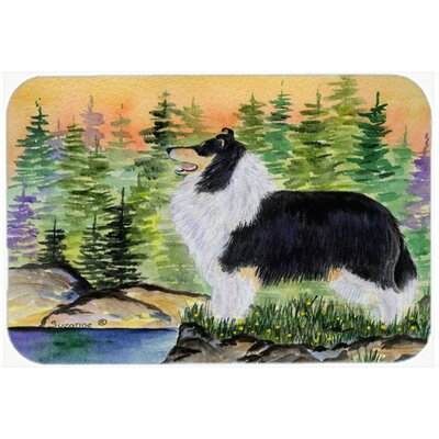 Collie Kitchen/Bath Mat Size: 20 H x 30 W x 0.25 D