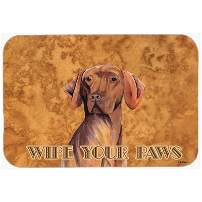 Vizsla Kitchen/Bath Mat Size: 24 H x 36 W x 0.25 D