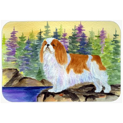 English Toy Spaniel Kitchen/Bath Mat Size: 24 H x 36 W x 0.25 D