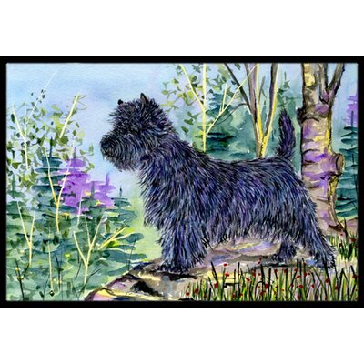 Cairn Terrier Doormat Mat Size: Rectangle 16 x 2 3