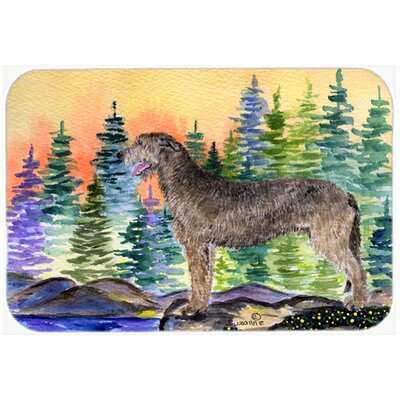 Irish Wolfhound Kitchen/Bath Mat Size: 24 H x 36 W x 0.25 D