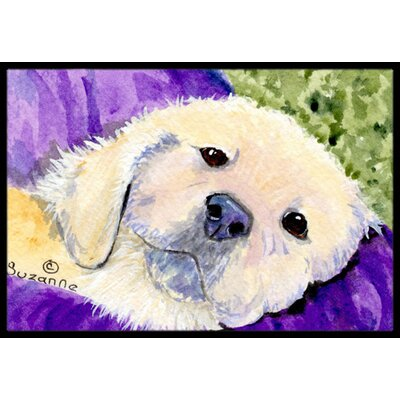 Golden Retriever Doormat Rug Size: 16 x 2 3