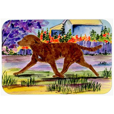 Chesapeake Bay Retriever Kitchen/Bath Mat Size: 24 H x 36 W x 0.25 D