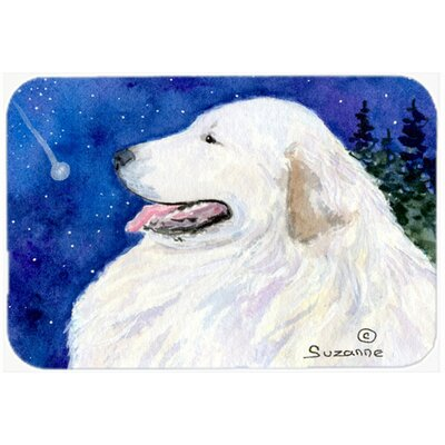 Great Pyrenees Kitchen/Bath Mat Size: 24 H x 36 W x 0.25 D