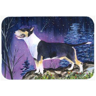 Bull Terrier Kitchen/Bath Mat Size: 20 H x 30 W x 0.25 D