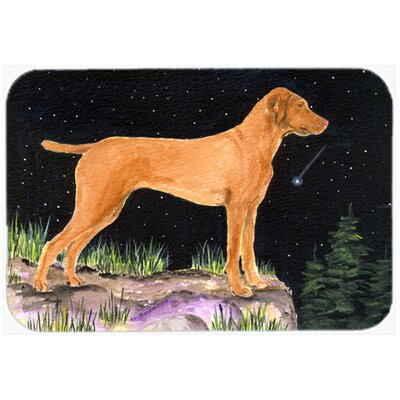 Starry Night Vizsla Kitchen/Bath Mat