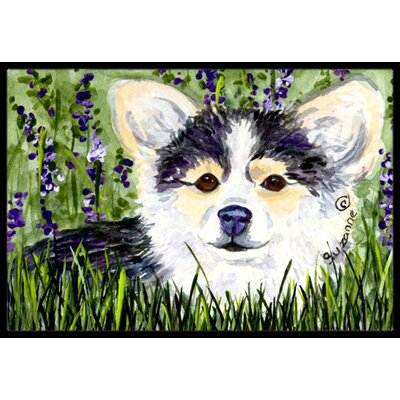 Chihuahua Doormat Rug Size: Rectangle 2 x 3