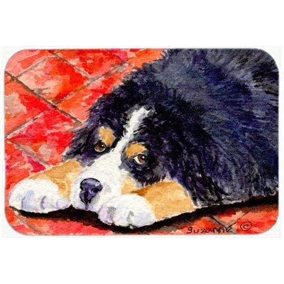 Bernese Mountain Dog Kitchen/Bath Mat Size: 24 H x 36 W x 0.25 D