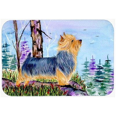 Norwich Terrier Kitchen/Bath Mat Size: 20