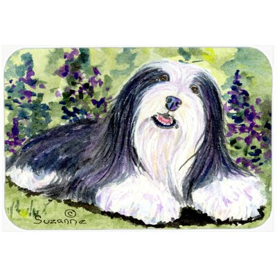Bearded Collie Kitchen/Bath Mat Size: 24 H x 36 W x 0.25 D