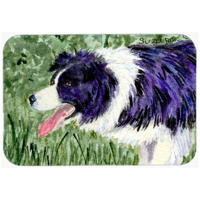 Border Collie Kitchen/Bath Mat