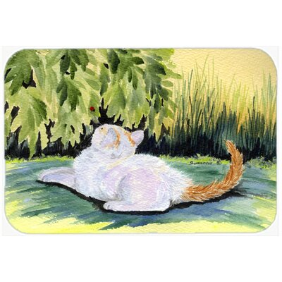 Cat Kitchen/Bath Mat Size: 20 H x 30 W x 0.25 D