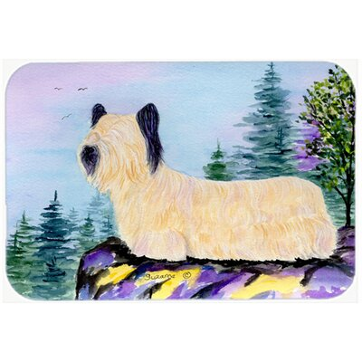 Skye Terrier Kitchen/Bath Mat Size: 20 H x 30 W x 0.25 D