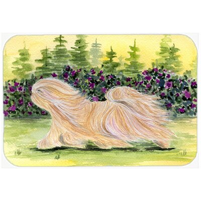 Lhasa Apso Kitchen/Bath Mat Size: 20