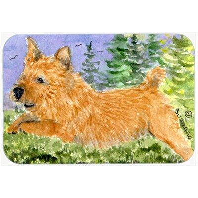 Norwich Terrier Kitchen/Bath Mat Size: 24