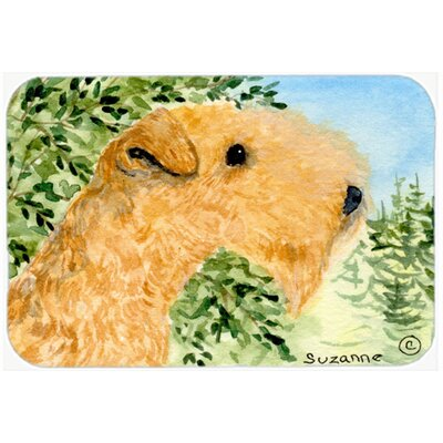 Lakeland Terrier Kitchen/Bath Mat Size: 20 H x 30 W x 0.25 D