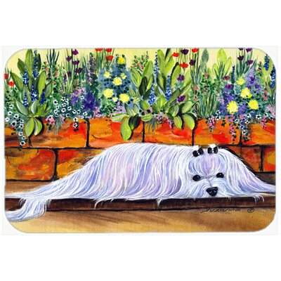 Maltese Kitchen/Bath Mat Size: 24 H x 36 W x 0.25 D