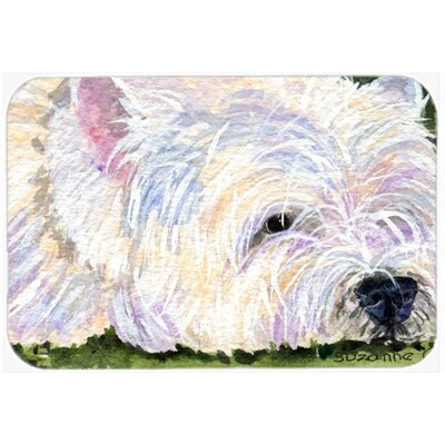 Westie Kitchen/Bath Mat Size: 20