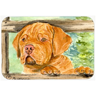 Dogue De Bordeaux Kitchen/Bath Mat Size: 20 H x 30 W x 0.25 D