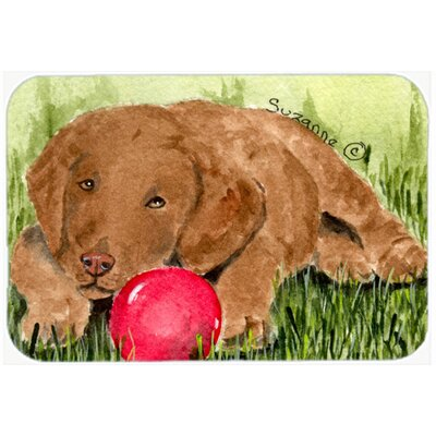 Curly Coated Retriever Kitchen/Bath Mat Size: 20 H x 30 W x 0.25 D