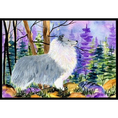 Sheltie Doormat Rug Size: Rectangle 16 x 2 3