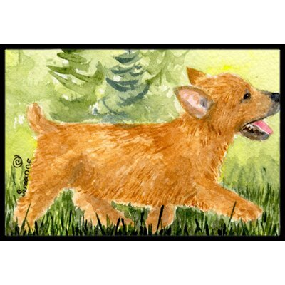 Norwich Terrier Doormat Mat Size: Rectangle 16 x 2 3