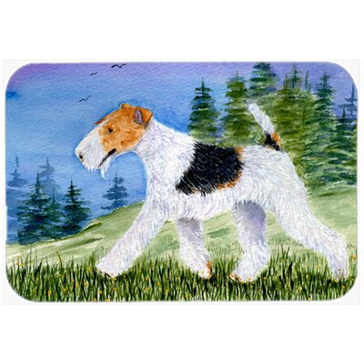 Fox Terrier Kitchen/Bath Mat