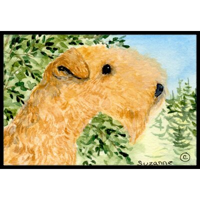 Lakeland Terrier Doormat Rug Size: Rectangle 16 x 2 3