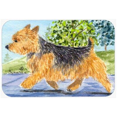 Norwich Terrier Kitchen/Bath Mat Size: 20 H x 30 W x 0.25 D