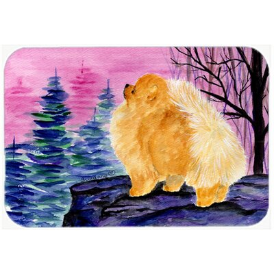 Pomeranian Kitchen/Bath Mat