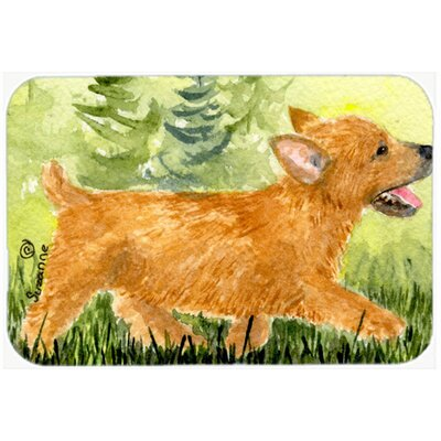 Norwich Terrier Kitchen/Bath Mat Size: 20 H x 30 W x 0.25 D