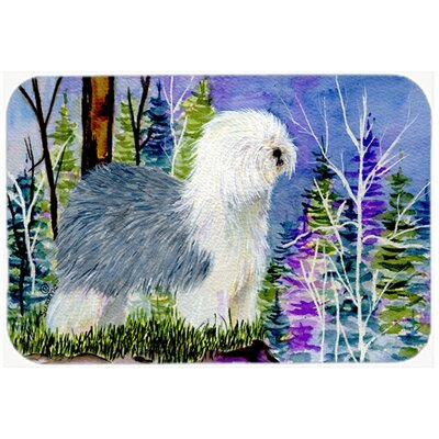 Old English Sheepdog Kitchen/Bath Mat Size: 20 H x 30 W x 0.25 D