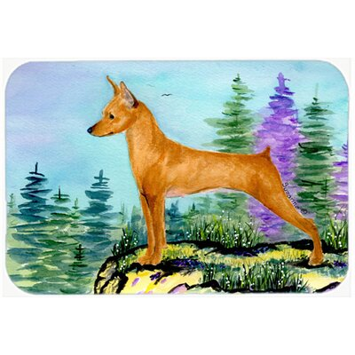Min Pin Kitchen/Bath Mat Size: 20 H x 30 W x 0.25 D