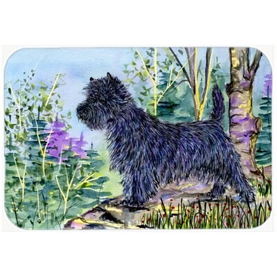 Cairn Terrier Kitchen/Bath Mat Size: 24 H x 36 W x 0.25 D