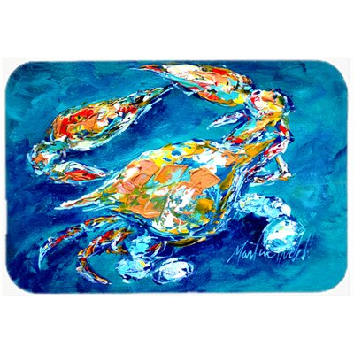 By Chance Crab Kitchen/Bath Mat Size: 20