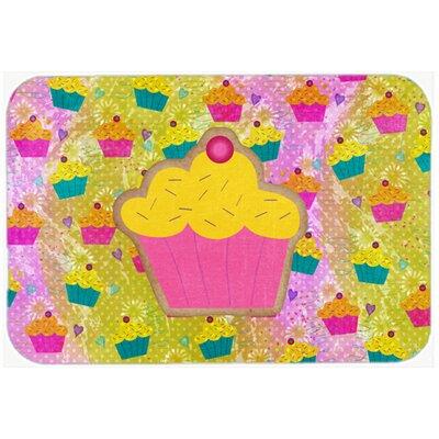 Cupcake Kitchen/Bath Mat Size: 24 H x 36 W x 0.25 D