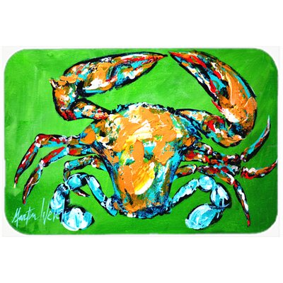 Wide Load Crab Kitchen/Bath Mat Size: 20 H x 30 W x 0.25 D