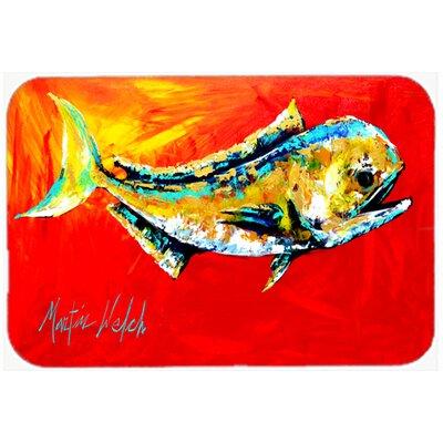 Danny Dolphin Fish Kitchen/Bath Mat Size: 20 H x 30 W x 0.25 D
