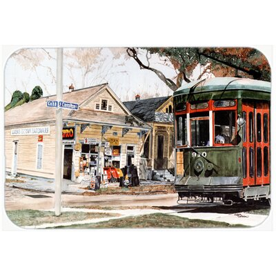 New Orleans Streetcar Kitchen/Bath Mat Size: 20 H x 30 W x 0.25 D