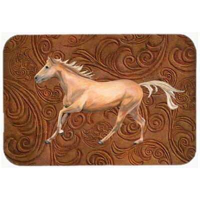 Horse Kitchen/Bath Mat Size: 24 H x 36 W x 0.25 D