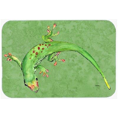 Gecko Kitchen/Bath Mat Size: 20 H x 30 W x 0.25 D