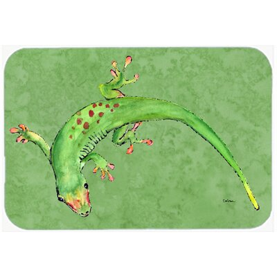 Gecko Kitchen/Bath Mat Size: 24 H x 36 W x 0.25 D