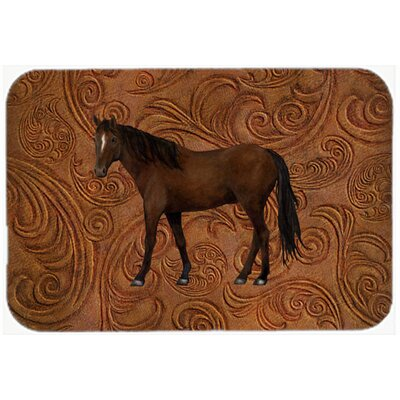 Horse Kitchen/Bath Mat Size: 24 H x 36 W x 0.25 D