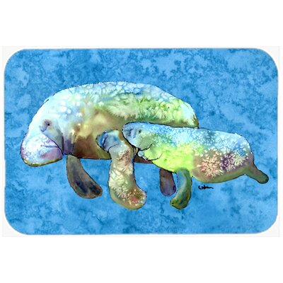 Manatee Kitchen/Bath Mat