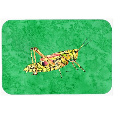 Grasshopper Kitchen/Bath Mat Size: 24 H x 36 W x 0.25 D