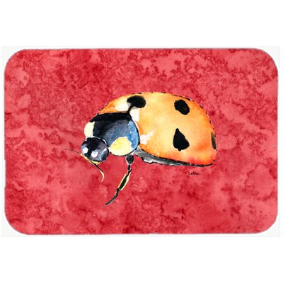Lady Bug Kitchen/Bath Mat Size: 20 H x 30 W x 0.25 D